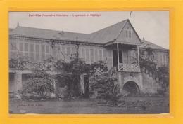 OCEANIE - VANUATA - NOUVELLES-HEBRIDES - PORT-VILA - HABITATIONS - Logement Du Résident - Vanuatu