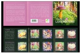 Luxembourg 2013 - Carnet Booklet Champignons - Mushrooms - Pilze - Hongos - Funghi - Flore Flora - Mushrooms