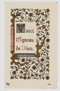 Image Pieuse Holy Card Communion F. Lehuérou Kerisel Saint Pierre De Chaillot 13-05-1948 - Ed EJP 746 - Voici L'agneau - Santini