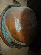 Rare Bassine Ancienne à Confitures ,en Cuivre épais (+ De 100 Ans) - Autres Collections