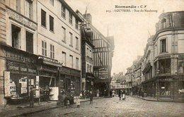 CPA - LOUVIERS (27) - Aspect De La Rue Du Neubourg En 1905 - Louviers