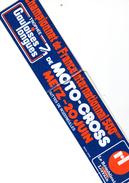 AUTOCOLLANT Sticker MOTO CROSS TROPHEE GAULOISES METZ 57 MOSELLE Années 70/80 - Stickers