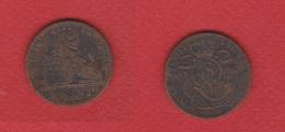 Belgique  --  5  Centimes 1850  --  état  B/TB - 1831-1865: Léopold I.