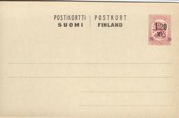 Finland - Postal Stationery.  S-3420 - Finlande