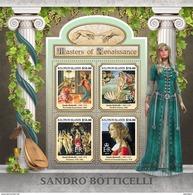 SOLOMON Isl. 2017 - S. Botticelli, Amur With Bow