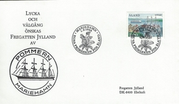 Åland - Cover Sent To Fregatten Jylland.  H-959 - Aland