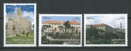 Liban 2015 Nouveau Timbres - Monastères Du Liban - Christianisme, Maronites, Orthodox, Catholique - ** MNH - Líbano