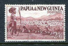 Papua New Guinea 1952-58 Definitives - 2/6 Shepherd & Flock Used - Papua New Guinea