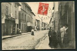 BEAUCAIRE - LA RUE NATIONALE - Beaucaire
