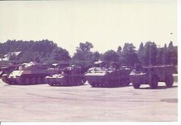 """PHOTO D'ARCHIVES: SAUMUR - CHAR   """"  AMX 50 """" + AMX 13 + AMX 10P + VAB 4X4 ( TANK - ARMEE - MILITAIRE ) - Saumur"""