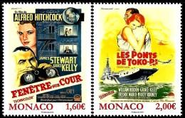 Monaco - 2016 - Grace Kelly Movie Posters - Mint Stamp Set - Monaco