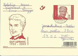 3 ENTIERS POSTAUX CLASSIQUES CARTES ILLUSTREES  N° 84.  1. + 2. + 3. (cp De BRUGGE Et GENT) (scan Verso) (sér. Complète) - Stamped Stationery