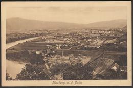 Slovenia Maribor 1911 / Marburg A. D. Drau / Panorama / River - Eslovenia