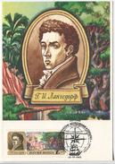 G.H. Langsdorf - Russian Explorer Of Brazil (Maximum Card) - Explorateurs