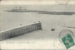 Le Portel - Le Port Et La Plage - Le Portel