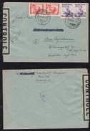 Österreich Austria 1948 French France Censor Cover Zensur INNSBRUCK To  Germany - 1945-60 Cartas