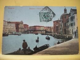 B5 2710 - VENEZIA - STAZIONE E CANAL GRANDE - 1906 - Venezia (Venice)
