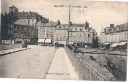 ----58----- DECIZE  Place Saint Just - écrite TTB - Decize