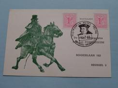 Postmuseum Musée Postal - AANVRAAG Om GELEID BEZOEK / Anno 10-7-1968 ( Zie Foto´s Voor Detail ) ! - Poste & Facteurs