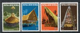 Papua New Guinea 1971 Native Dwellings Set HM - Papua New Guinea