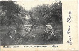 Marchienne-au-Pont NA17: Le Parc Du Château Cartier. L'Etang 1903 - Charleroi