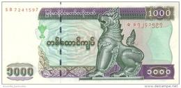 MYANMAR 1000 KYATS ND (2004) P-80 UNC REDUCED SIZE [MM114a] - Myanmar