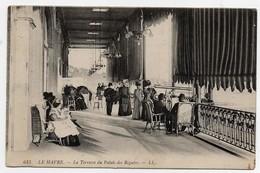 Le Havre La Terrasse Du Palais Des Régates CPA - Le Havre