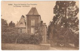 """Libin - Foyer De Vacances """"Les Fauvettes"""" - Le Château - Vue Latérale - 1927 - Libin"""
