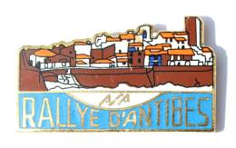 Pin's ASA - RALLYE D'ANTIBES (06) - Vue Sur La Ville - Badge Concept - G368 - Rallye