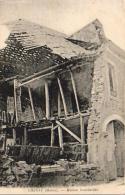 MILITARIA  GUERRE 1914- 18  CHENAY  Maison Bombardée  ..... - Guerre 1914-18