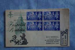 2556 GB Grande Bretagne Centenaire Expo1851 1951 Festival Of Britain Industrie Art Reconstruction War Recommandé - 1851 – London (United Kingdom)