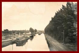 Dept 59 Paillencourt * Quai Et Canal De La Sensée  *   ( Scan Recto Et Verso ) - France