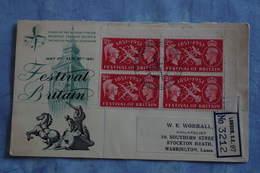 2557 GB Grande Bretagne Centenaire Expo1851 1951 Festival Of Britain Industrie Art Reconstruction War Recommandé - 1851 – London (United Kingdom)