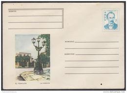 1973-EP-4 CUBA 1973. Ed.170b. ENTERO POSTAL. POSTAL STATIONERY. JOSE MARTI. LA HABANA. EL TEMPLETE. UNUSED. - Cuba