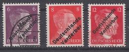 Lokalausgabe Meissen Minr.32,33,34 Postfrisch, Gestempelt - Sowjetische Zone (SBZ)