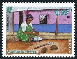 MAYOTTE 2006 - Yv. 183 **   Cote= 2,10 EUR - Râpe Du Coco  ..Réf.AFA22668 - Ungebraucht