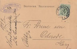 DR Firmenkarte EF Minr.39 Nordhausen 7.3.89 - Briefe U. Dokumente