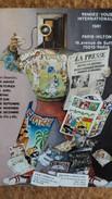 CPSM RDV INTERNATIONAUX PARIS HILTON PAR J N ROCHUT PRESSE CP 1981 - Bourses & Salons De Collections