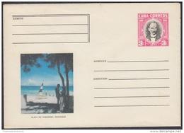 1977-EP-2 CUBA 1977. Ed.178b. ENTERO POSTAL. POSTAL STATIONERY. JOSE MARTI. PLAYA DE VARADERO. MATANZAS. UNUSED. - Cuba