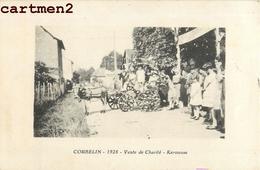 CORBELIN VENTE DE CHARITE KERMESSE ATTELAGE ANE 38 - Corbelin