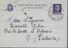 WWII Franchigia 1943 Posta Militare 216 - Italia - Guerre 1939-45