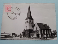 St. VINCENTIUSKERK En GEMEENTEHUIS Zolder / Anno 6-7-68 ( Zie Foto Voor Details ) !! - Heusden-Zolder