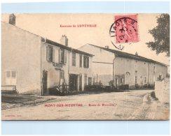 54 Environs De Lunéville - MONT-sur-MEURTHE - Route De Blainville  (Recto/Verso) - Other Municipalities