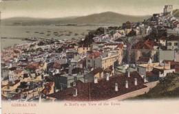 Gibraltar Birds Eye View Of The Town - Gibraltar
