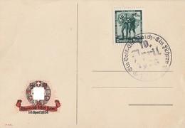 DR Anlasskarte EF Minr.662 SST 10.4.34 - Briefe U. Dokumente