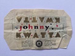 "KWATTA JOHNNY "" Emballage Nº 345 , Chocolat Belge Charleroi , Bois D'Haine . - Publicités"