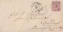 NDP Brief EF Minr.16 K2 Bautzen 24.1.71 Gel. Nach Dresden - Norddeutscher Postbezirk