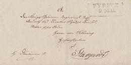 Preussen Brief L2 Pyritz 9.5. Gel. Nach Stargard - Preussen