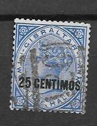 1889 USED Gibraltar - Gibraltar
