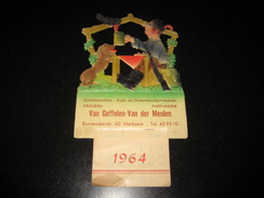 Kalender Chromo 1964 MERKSEM Van Geffelen - Van Der Meulen - Kalenders